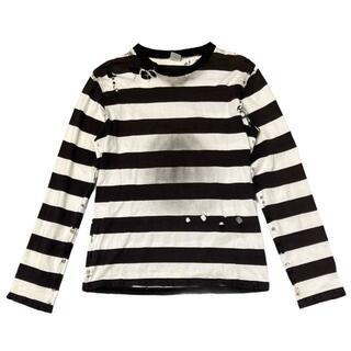 ナンバーナイン(NUMBER (N)INE)の37/48)希少 ナンバーナイン 02ss モダンエイジ オパール加工 Tシャツ(Tシャツ/カットソー(七分/長袖))