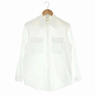 MADISONBLUE - マディソンブルー 21SS OX  ハンプトン オックスシャツ 長袖 01 白