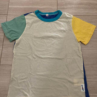 マーキーズ(MARKEY'S)の美品✨マーキーズ 配色切り替えTシャツ 130サイズ(Tシャツ/カットソー)