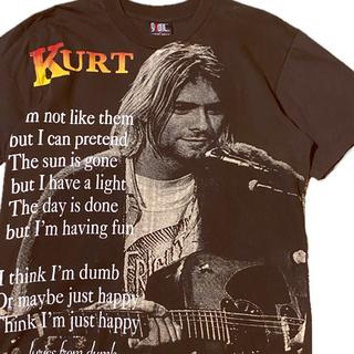 FEAR OF GOD - 90's Nirvana ニルヴァーナ Tシャツ kurt cobain