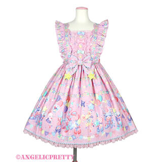 Angelic Pretty - Angelic Pretty♡Happy Garland JSK♡ピンク♡