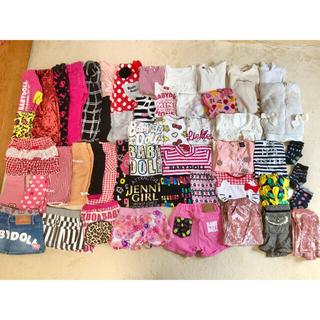 BABYDOLL - 幼児 女の子服 80サイズ〜110サイズ 50点 まとめ売り