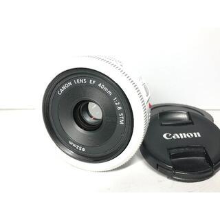 キヤノン(Canon)の極上品 キヤノン EF 40mm F2.8 STM ホワイト(レンズ(単焦点))