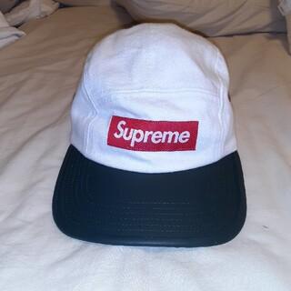 Supreme - 2-Tone Denim Camp cap