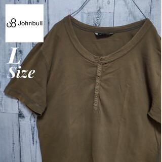 ジョンブル(JOHNBULL)のJohnbull ジョンブル ヘンリーネックシャツ Tシャツ(Tシャツ/カットソー(半袖/袖なし))