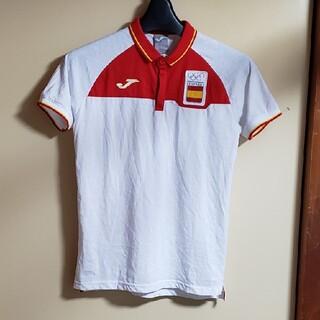 新品東京オリンピックスペイン代表ユニフォームポロシャツインポートSサイズ (ポロシャツ)