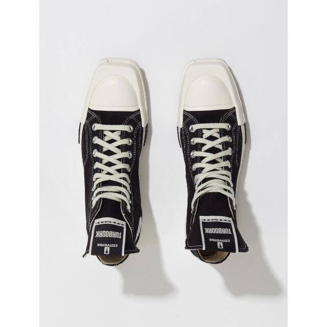 Rick Owens(リックオウエンス)のRick Owens Converse Chuck 70 Turbodrk 26 メンズの靴/シューズ(スニーカー)の商品写真