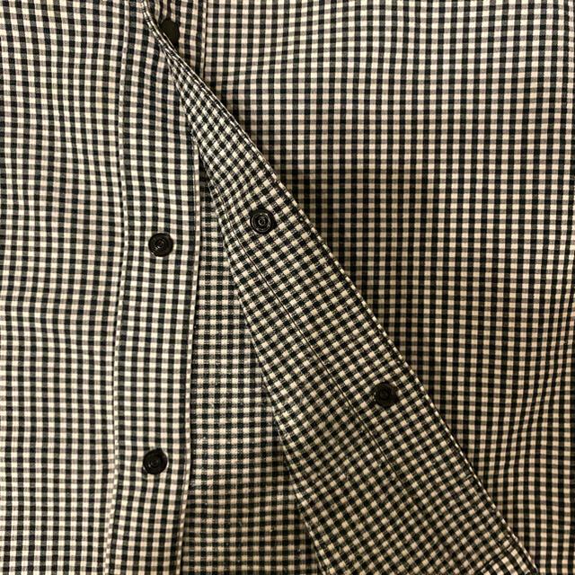 THE NORTH FACE(ザノースフェイス)のノースフェイスNorthFaceギンガムチェック半袖シャツキッズ120 キッズ/ベビー/マタニティのキッズ服男の子用(90cm~)(ブラウス)の商品写真