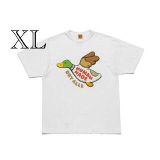 Supreme - HUMAN MADE KAWS Tシャツ 白 XL