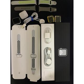 Apple Watch - Apple Watch Series5 nike 40mm GPS美品 シルバー