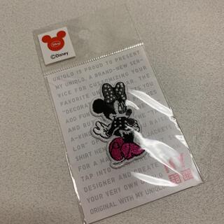 ユニクロ(UNIQLO)の【新品未使用】UNIQLO Disney モノクロミニー ワッペン(キャラクターグッズ)