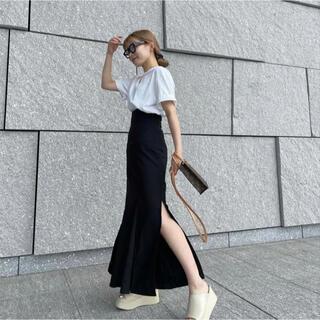 moussy - 限定販売💫 LILOU mermaid slit long skirt