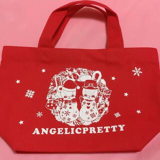 アンジェリックプリティー(Angelic Pretty)のFancy Noelミニトート(トートバッグ)