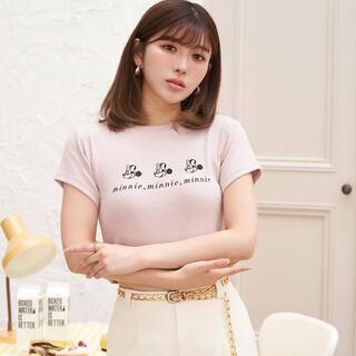 エイミーイストワール(eimy istoire)のdarich ミニーマウス Tシャツ(Tシャツ(半袖/袖なし))