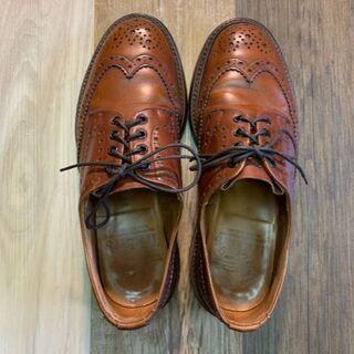 トリッカーズ(Trickers)の【中古】Tricker's BOURTON M5633 ブラウン UK7.5(ドレス/ビジネス)