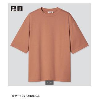 UNIQLO - UNIQLO ユニクロ エアリズムコットンオーバーサイズTシャツ(5分袖)