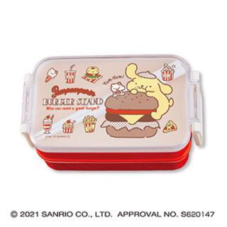ポムポムプリン(ポムポムプリン)のポムポムプリン☆プクプク保冷バッグ付きランチボックス(弁当用品)