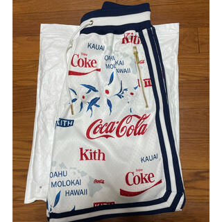コカコーラ(コカ・コーラ)のkith × Coca-Cola バスケショーツ(ショートパンツ)