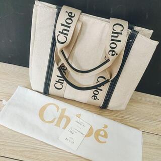 Chloe - Chloeクロエ WOODY ミディアムトートバッグ