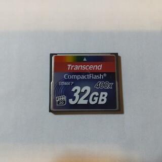 トランセンド(Transcend)のコンパクトフラッシュ 32GB(その他)