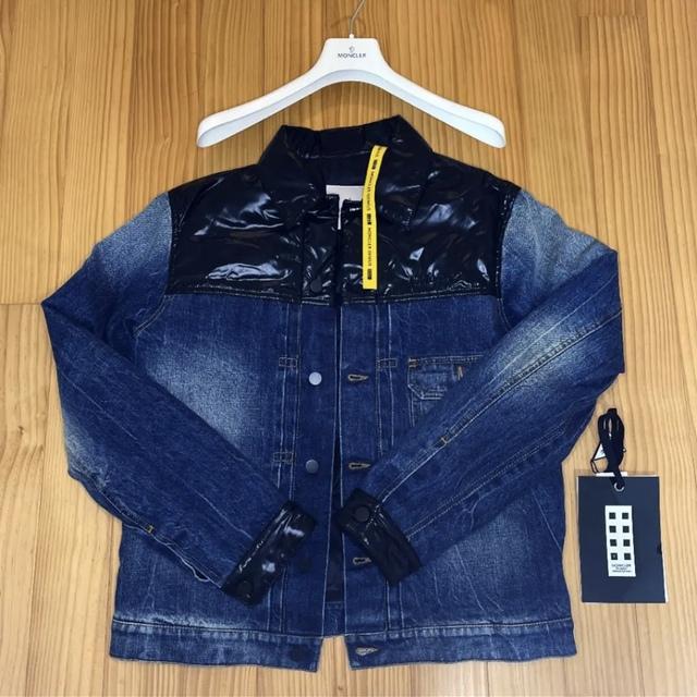 MONCLER(モンクレール)のモンクレールフラグメント デニムダウン SHADY 1 メンズのジャケット/アウター(ダウンジャケット)の商品写真