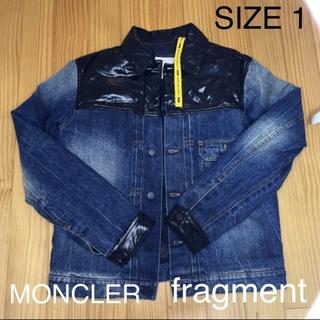 モンクレール(MONCLER)のモンクレールフラグメント デニムダウン SHADY 1 サイズS(ダウンジャケット)