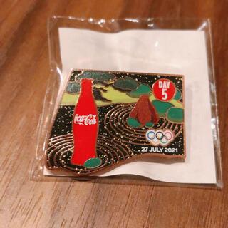 コカ・コーラ - コカコーラ オリンピックトウキョウ2020 非売品 ピンバッジ day5