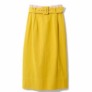 REDYAZEL - REDYAZEL ベルト付きタックサイドタイトスカート