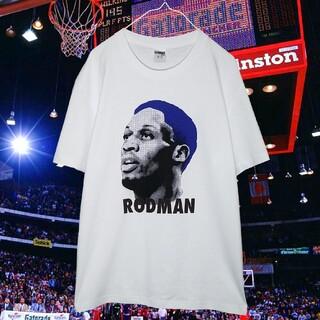 【新品】Dennis Rodman Bull Head Tシャツ