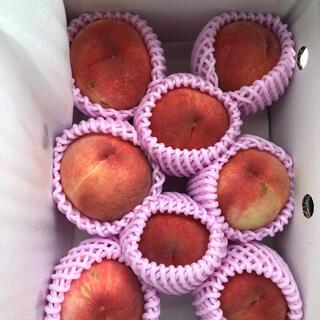 NO2.福島產 當日採摘 A品硬桃 タイムサービス 約2KG 6-8個入 (フルーツ)