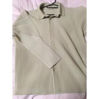 ISSEY MIYAKE - 値段交渉可能未使用イッセイミヤケオムプリュスシャツジャケット