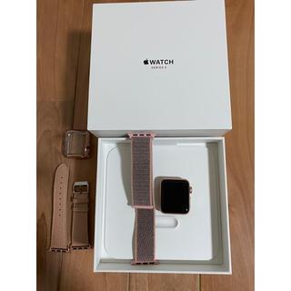 Apple Watch - アップルウォッチ series3 38mm セルラーモデル
