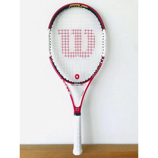 ウィルソン(wilson)の【新品同様】ウィルソン『Nコードシックスワン105』テニスラケット/G2/レッド(ラケット)