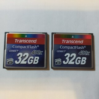 トランセンド(Transcend)のコンパクトフラッシュカード 32GBx2枚セット(その他)