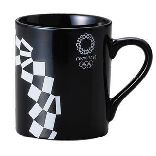 【公式ライセンス商品】東京 2020 五輪 オリンピック マグカップ 黒