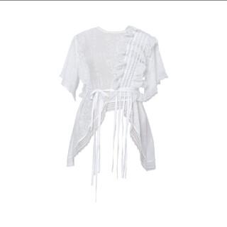 keisuke kanda - rurumu: 21S/S frill knit PO white 縷縷夢兎