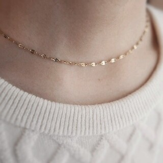 TOMORROWLAND - 【再入荷】eclair necklace * gold