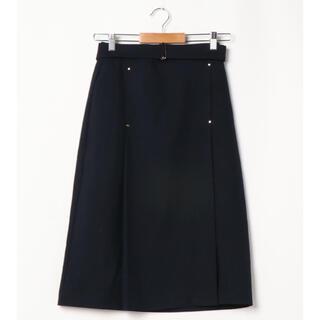 テチチ(Techichi)のTe chichi 麻調カシメ使いタイトスカート(ひざ丈スカート)