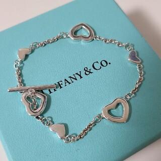 Tiffany & Co. - ティファニー マルチハート オープン ブレスレット シルバー