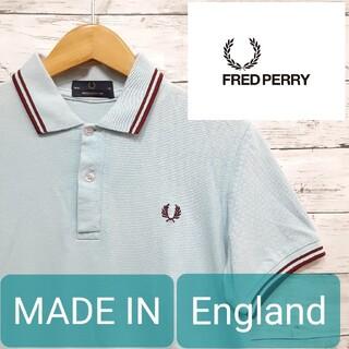 フレッドペリー(FRED PERRY)の✨希少ENGLAND製✨ FREDPERRY(フレッドペリー) ポロ サックス(ポロシャツ)