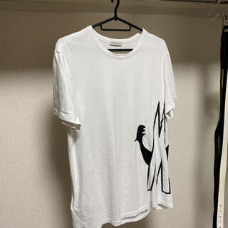 MONCLER - MONCLER ビッグ ロゴ  プリント Tシャツ