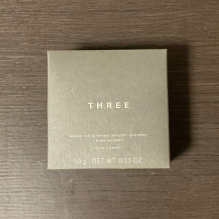 THREE - THREE  アドバンスドエシリアルスムースオペレーター ルースパウダー01