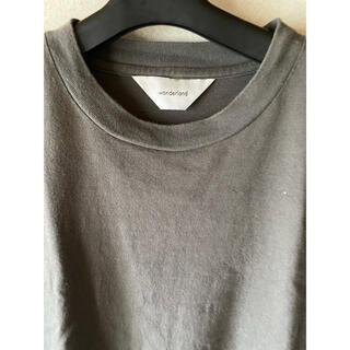 アンユーズド(UNUSED)のwonderland サイドスリットTシャツ(Tシャツ/カットソー(半袖/袖なし))