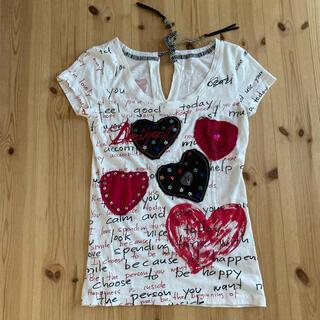 デシグアル(DESIGUAL)のMサイズ Desigual デシグアル ハートTシャツ(Tシャツ(半袖/袖なし))