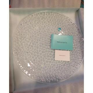 ティファニー(Tiffany & Co.)の大人気ロングセラーティファニー ガラス皿二枚セット(食器)