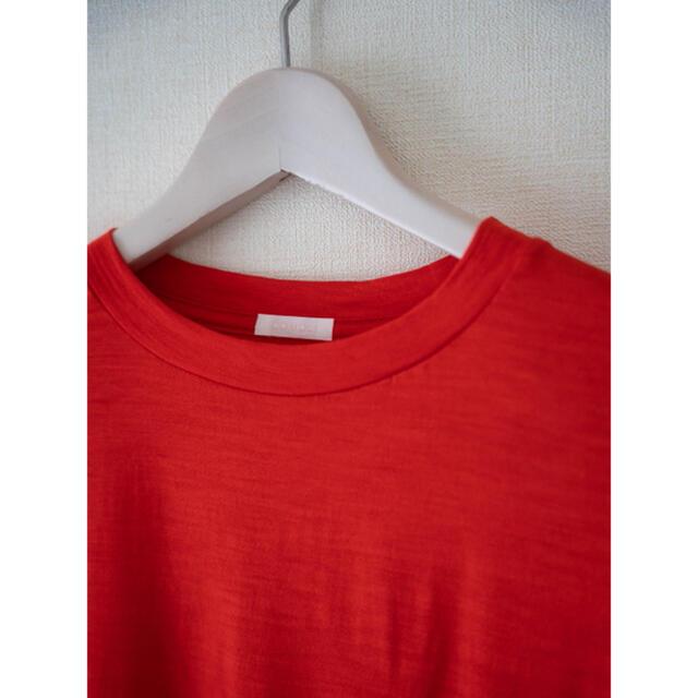 COMOLI(コモリ)のCOMOLI ウール天竺半袖クルー サイズ 2 メンズのトップス(Tシャツ/カットソー(半袖/袖なし))の商品写真