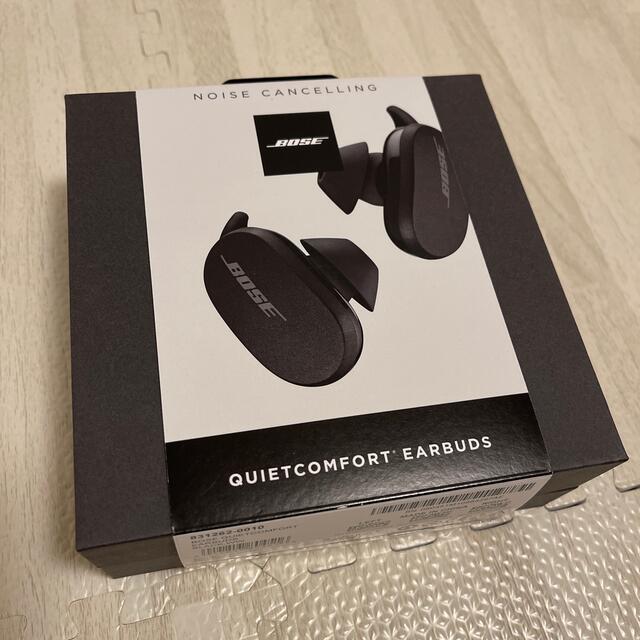 BOSE(ボーズ)のBOSE quietcomfort earbuds ノイズキャンセリングイヤホン スマホ/家電/カメラのオーディオ機器(ヘッドフォン/イヤフォン)の商品写真