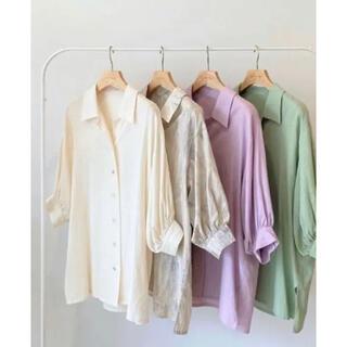 SeaRoomlynn - シールームリン パフスリーブMEDIUMシャツ