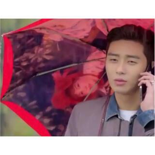 パクソジュン 彼女はキレイだった 傘 折り畳み傘 新品 韓国ドラマ グッズ