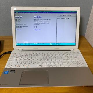 ジャンクTOSHIBAノートパソコンIntel celeron